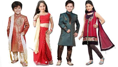Indian Clothing Styles for Kids